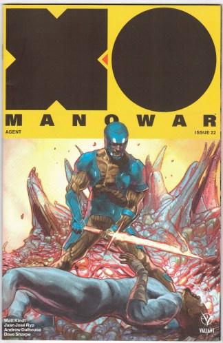 X-O Manowar #22 1:20 Renato Guedes Variant Valiant 2017 Matt Kindt VF/NM