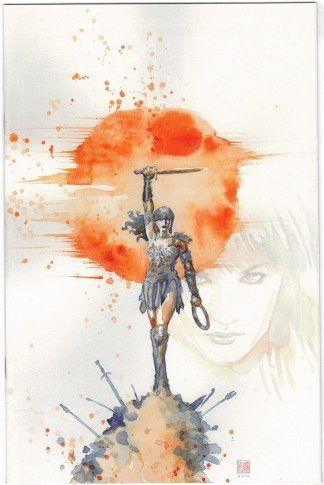 Xena Warrior Princess #1 1:10 David Mack Virgin Variant Dynamite 2019 VF/NM