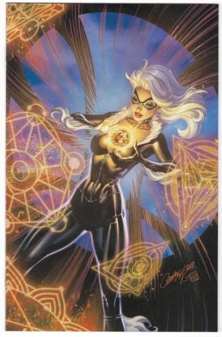 Black Cat #3 1:100 J Scott Campbell Virgin Variant Marvel 2019 VF/NM
