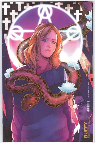 Buffy the Vampire Slayer #8 Hellmouth Connecting Variant Boom 2019 VF/NM
