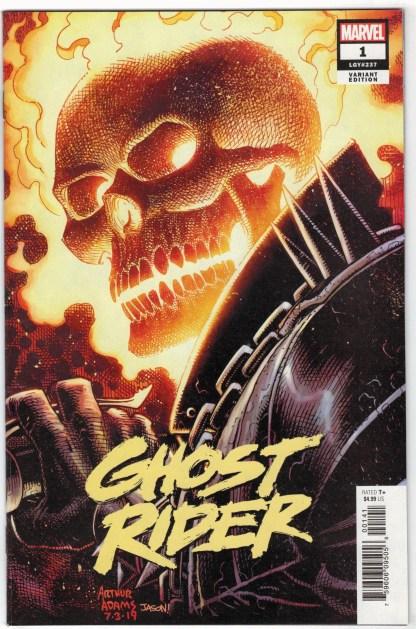 Ghost Rider #1 1:50 Arthur Adams Variant Marvel 2019 VF/NM