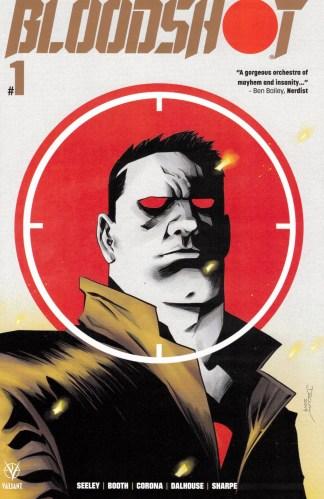 Bloodshot #1 Declan Shalvey NYCC Gold Variant Valiant 2019 Tim Seeley