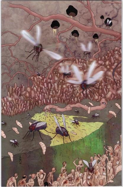 Chronicles of Wormwood #2 Burrows Wrap Variant Avatar 2007 Garth Ennis VF/NM