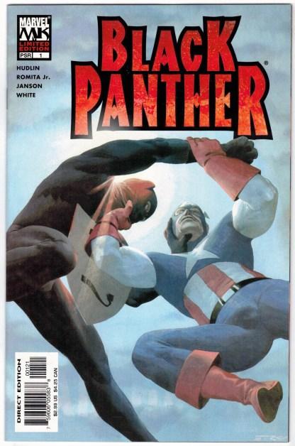 Black Panther #1 Limited Edition Esad Ribic Variant Marvel 2005 VF/NM