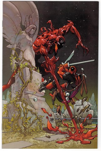 Absolute Carnage Vs Deadpool #1 1:100 Ferry Virgin Variant Marvel 2019 VF/NM