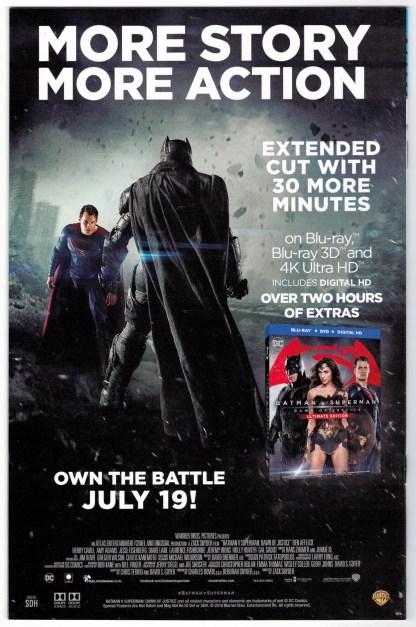 Batgirl and the Birds of Prey Rebirth #1 Ben Caldwell Variant DC 2016 VF/NM