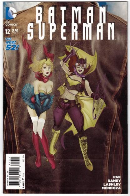 Batman Superman #12 Emanuela Lupacchino Bombshells Variant DC 2013 VF/NM