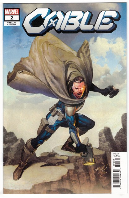 Cable #2 1:25 Ariel Olivetti Variant DX Marvel 2020 VF/NM