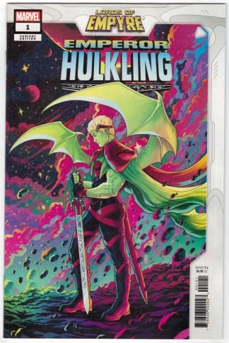 Lords of Empyre Emperor Hulkling #1 1:25 Jen Bartel Variant Marvel 2020 VF/NM