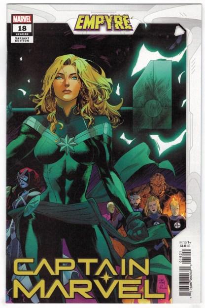 Captain Marvel #18 Dan Mora Variant Marvel 2019 Empyre VF/NM