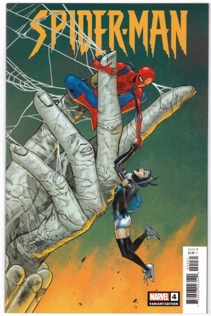 Spider-Man #4 1:25 Sara Pichelli Variant 2019 JJ Henry Abrams VF/NM
