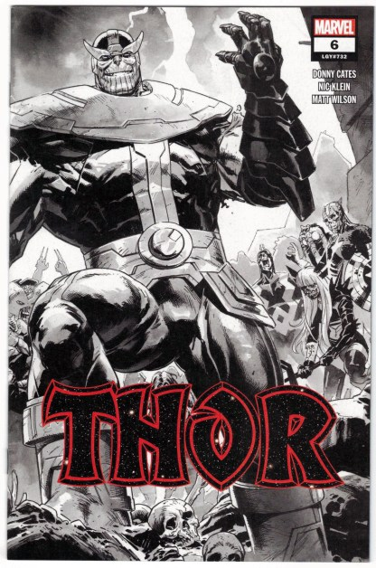 Thor #6 Second Print 1:50 Nic Klein Variant Marvel 2020 Black Winter VF/NM