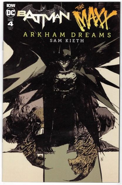 Batman Maxx Arkham Dreams #4 1:10 Ash Wood Variant DC IDW 2018 VF/NM