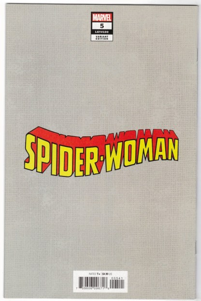 Spider-Woman #5 1:500 Artgerm Virgin Variant Marvel 2020 VF/NM