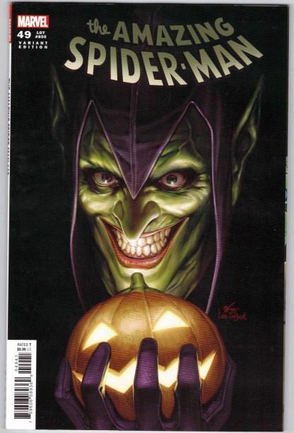 Amazing Spider-Man #49 1:25 Lee InHyuk Variant Legacy #850 Marvel VF/NM