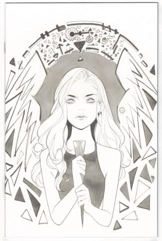 Buffy the Vampire Slayer #19 1:25 Peach Momoko B&W Variant Boom 2019 VF/NM