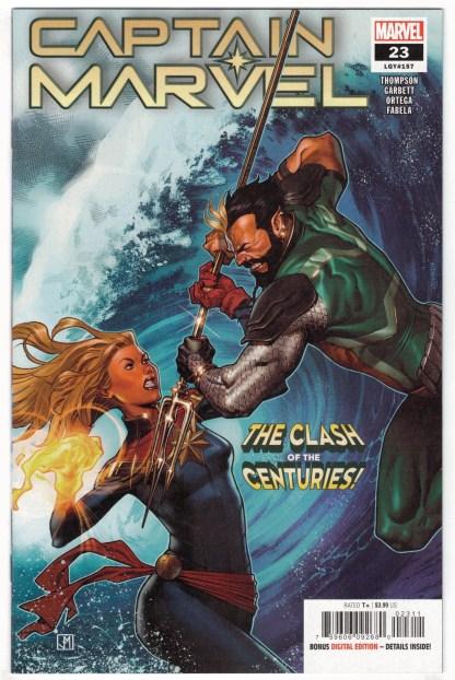 Captain Marvel #23 Russell Jorge Molina 1st Print Marvel 2018 Ove & Brigid VF/NM
