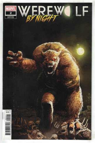Werewolf by Night #2 1:25 Takashi Okazaki Variant Marvel 2020 Taboo Earl VF/NM