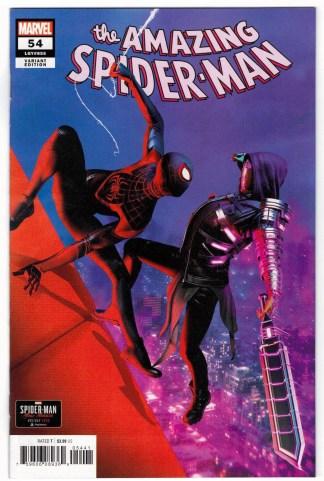 Amazing Spider-Man #54 1:10 Gavin Goulden Miles Morales Variant 2018 VF/NM