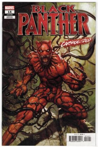 Black Panther #14 Ryan Brown Carnage-ized Variant 1st Print Marvel 2018 VF/NM