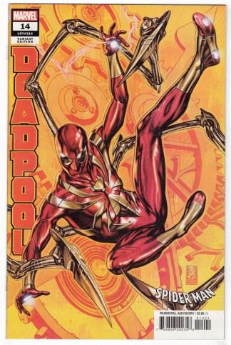 Deadpool #14 Nic Klein Iron Spider-Man Variant Marvel 2018 VF/NM