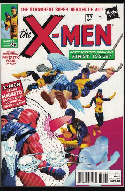 All New X-Men #33 1:15 Hasbro Action Figure Variant Marvel NOW 2012