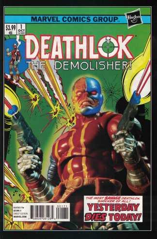 Deathlok #1 1:15 Hasbro Action Figure Photo Variant Marvel ANMN 2014