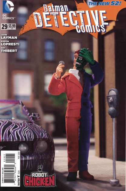 Detective Comics #29 1:25 Robot Chicken Variant DC New 52 Batman