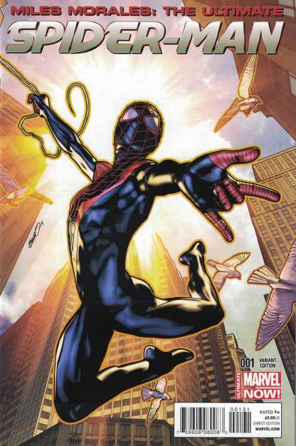 Miles Morales Ultimate Spider-Man #1 1:25 Peterson Variant Marvel 2014