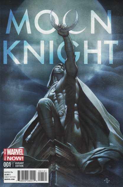 Moon Knight #1 1:50 Adi Granov Variant Marvel ANMN 2014 HTF Rare