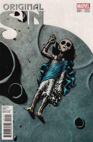 Original Sin #1 1:25 Ed McGuinness Watch Variant Marvel 2014