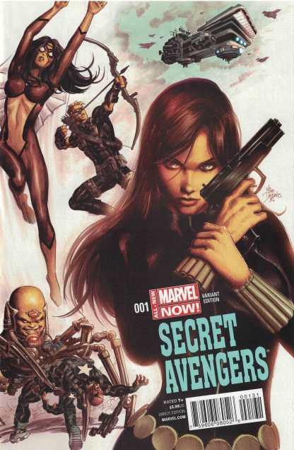 Secret Avengers #1 1:50 Mike Deodato Jr Variant Marvel ANMN 2014