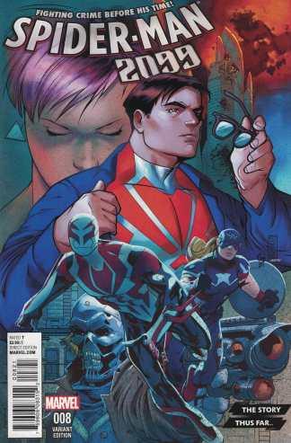 Spider-Man 2099 #8 1:10 Story Thus Far Variant Marvel ANAD 2015