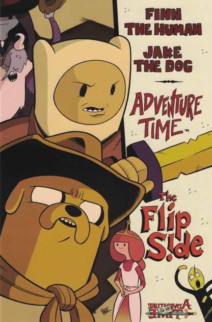 Adventure Time Flip Side #5 1:15 Yale Stewart Variant Boom Studios Cover C