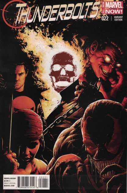 Thunderbolts #22 1:50 Christopher Variant Marvel NOW HTF 2012
