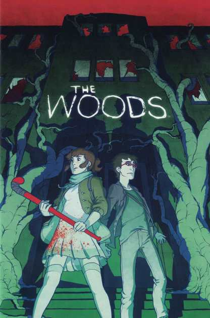 The Woods #1 1:25 Paul Duffield Variant Boom! Studios 2014