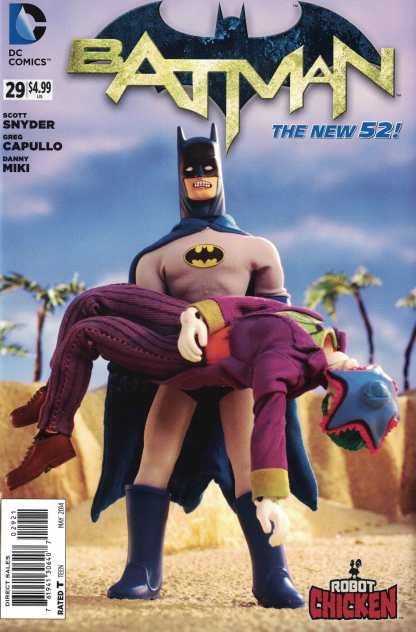 Batman #27 1:25 Robot Chicken Variant DC New 52 2011