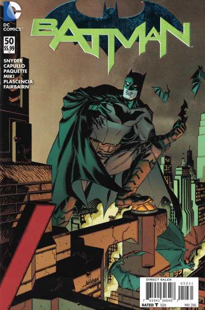 Batman #50 1:100 Dave Johnson Interlocking Variant DC New 52 2011