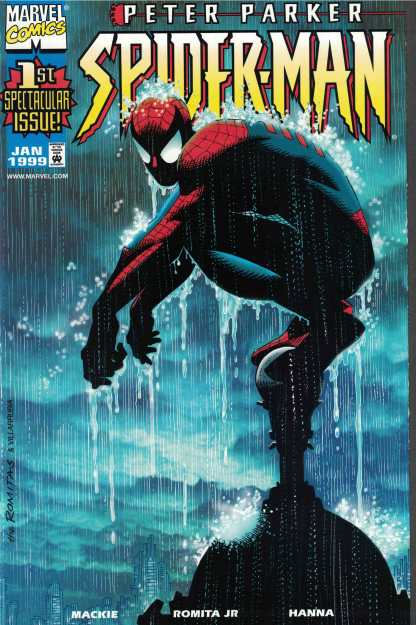 Peter Parker Spider-Man #1 Dynamic Forces Exclusive Alternate Cover Variant