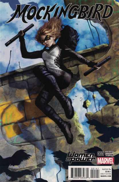 Mockingbird #1 Fagan Women of Power WOP Variant Marvel ANAD 2016 Shield