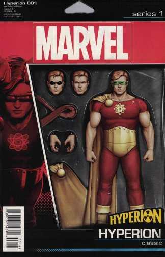 Hyperion #1 John Tyler Christopher Action Figure Variant Marvel ANAD 2016