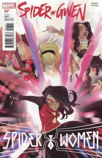 Spider-Gwen #7 1:10 Rodriguez Variant Marvel ANAD 2015 Spider-Women SWO