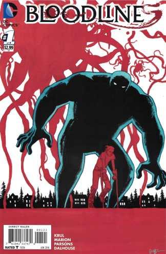 Bloodlines #1 1:25 Jill Thompson Variant DC Comics 2016