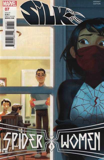 Silk #7 1:20 Helen Chen Variant Marvel ANAD 2015 1st Spider-Women