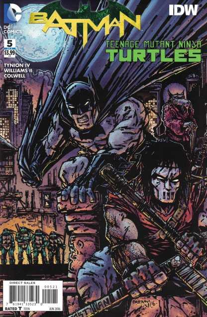 Batman Teenage Mutant Ninja Turtles #5 1:50 Kevin Eastman Variant IDW DC TMNT