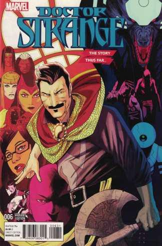 Doctor Strange #6 1:10 Kris Anka Story Thus Far Variant Marvel 2015 ANAD