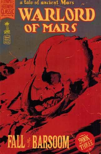 Warlord of Mars Fall of Barsoom #3 1:10 Francesco Francavilla Variant Dynamite John Carter