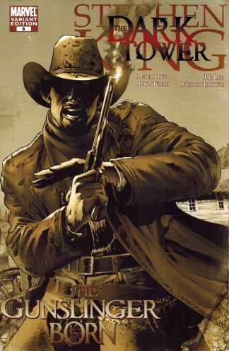 Stephen King Dark Tower Gunslinger Born #5 1:25 Greg Land Variant Marvel 2007