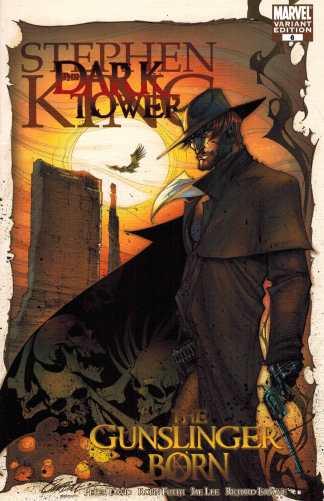 Steven King Dark Tower Gunslinger Born #6 1:25 J Scott Campbell Variant