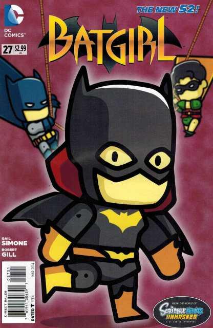 Batgirl #27 Scribblenauts Variant New 52